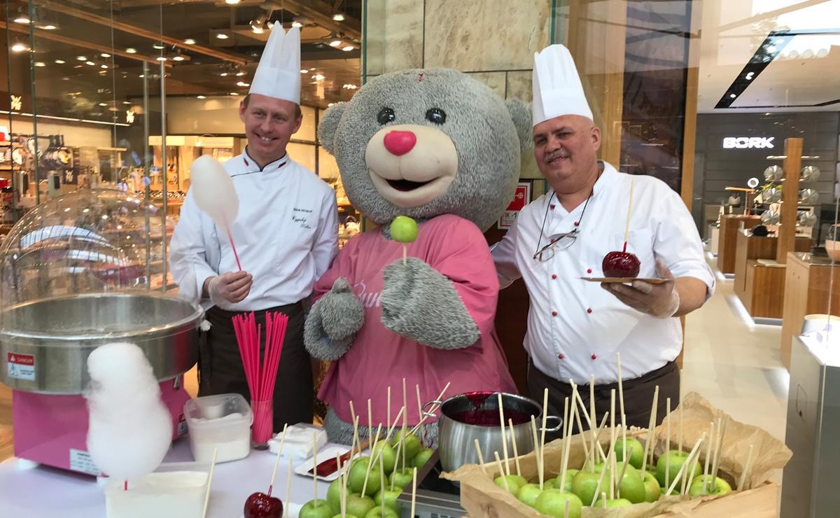 Карамельные яблоки в Москве