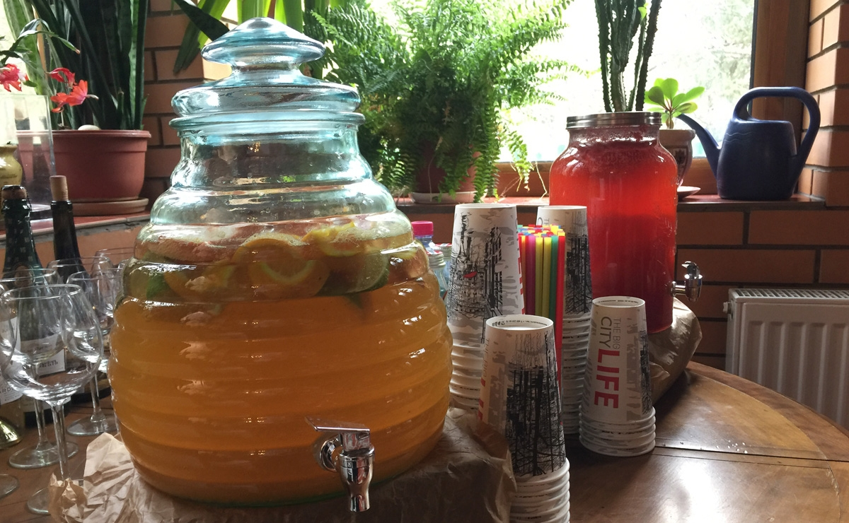 Заказать лимонадный бар