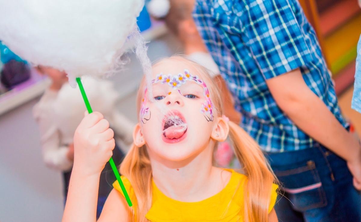 Сахарная вата на мероприятия