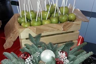 Яблоки в карамели для Fix Price