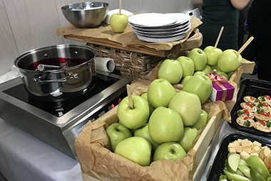 Карамельное яблоко